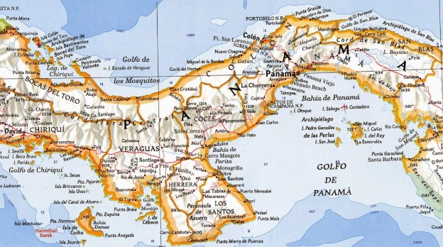 Accidentes costeros en Panamá